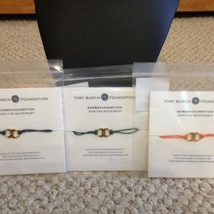 TORY BURCH - Embrace Ambition Bracelets - Set of 3